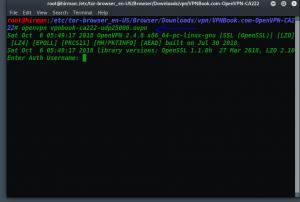 Vpn در سیستم عامل لینوکس 1